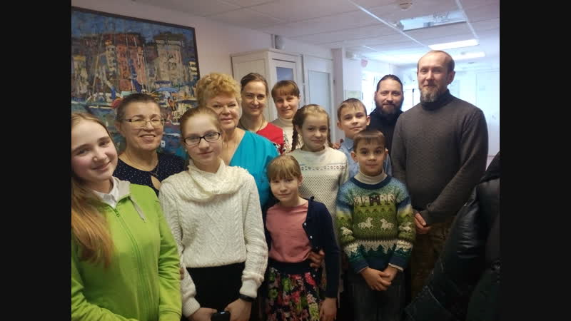 Самрский хоспис Троице Сергиев приход воскресная школа