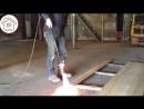 Обработка древесины открытым огнём Шоу-Суги-Бан