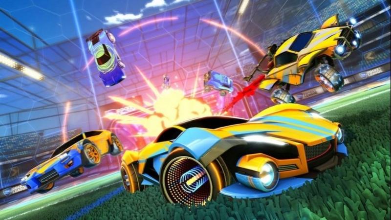 Rocket League Тру мувы рейтинг в небо