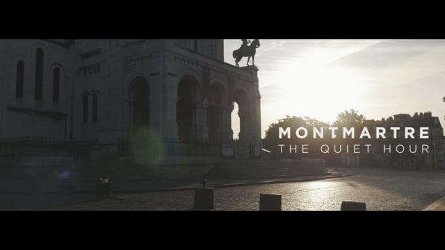 Montmartre, the quiet hour