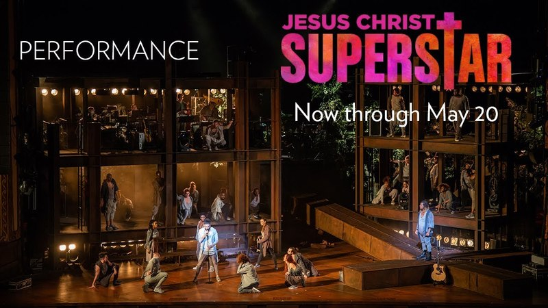 Whats the Buzz Heath Saunders and Cast - JESUS CHRIST SUPERSTAR Now through May 20