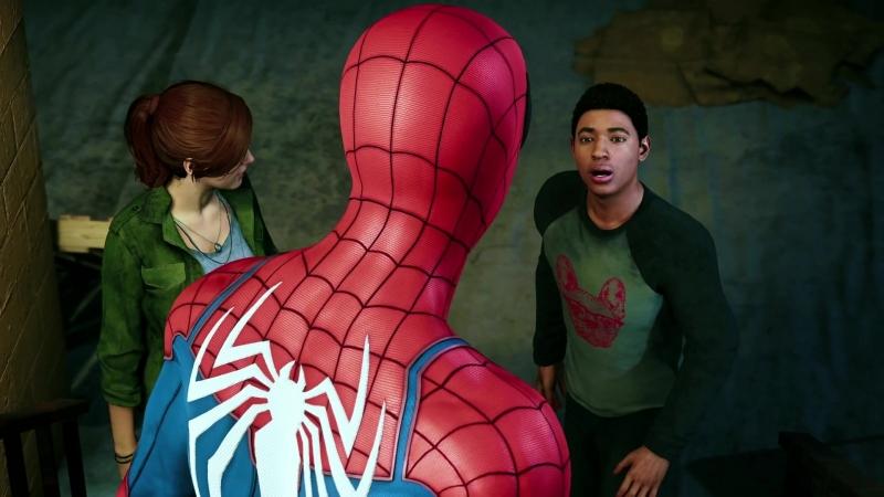 Сюжетный трейлер Spider-Man с Comic-Con 2018