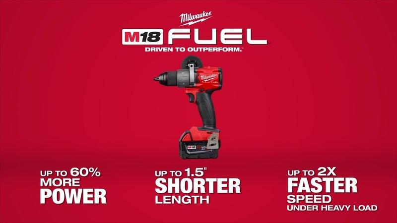 "Milwaukee® M18 FUEL™ ½"" Hammer Drill Drill Driver"