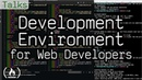 Development environment for web developers using VS Code and iTerm