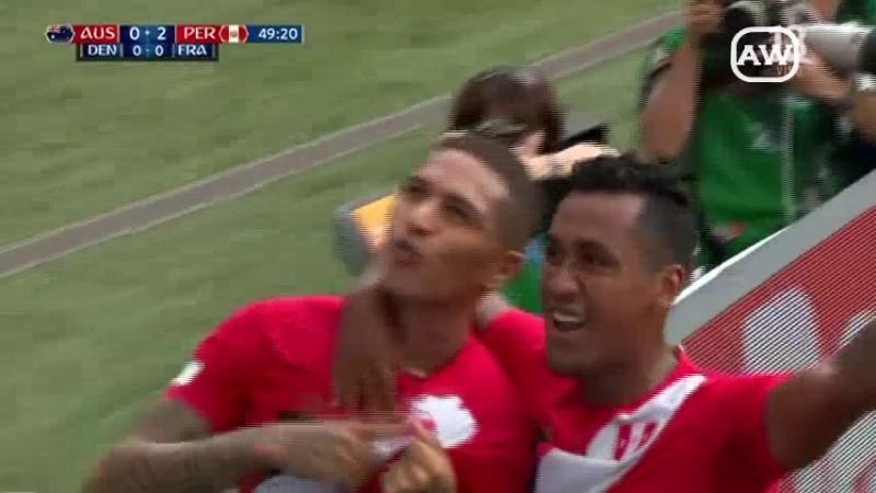 Perú 2-0 Australia - (Grupo C - Fecha 3 - Mundial Rusia 2018)