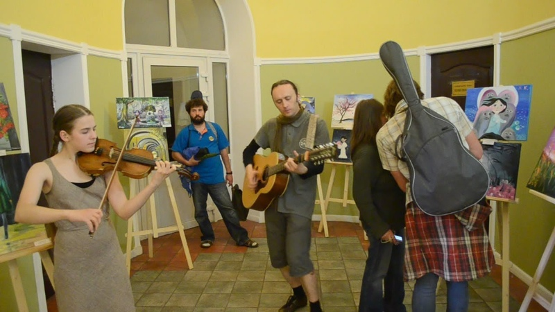 'Take A Moment' - Sergey Denisov feat. Sana-Violin (live at the Celtic Festival)