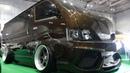 (4K)GARAGE EXCELLENT TOYOTA 200 HIACE Deeprim Wheel ガレージエクセレント 鬼キャンハイエースカスタム
