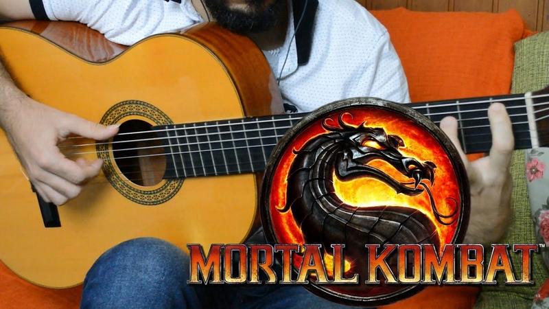 Mortal Kombat - Fingerstyle Guitar (Marcos Kaiser)