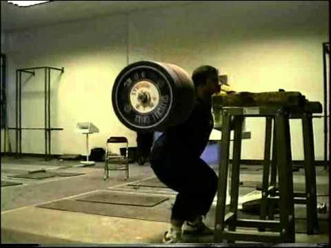 Stefan Botev 320kg Back Squat