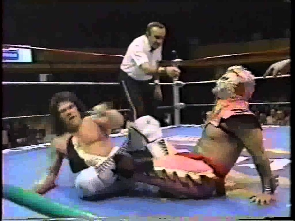 Chris Jericho Ultimo Dragon vs Negro Casas El Dandy CMLL 1995 Part 2