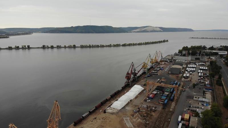 Грузовой порт Тольятти / Самарская область