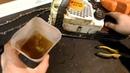 Stihl MS-180 подача масла