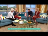 Poldarks Luke Norris and Gabriella Wilde Tease Tragedy For Dwight and Caroline - This Morning