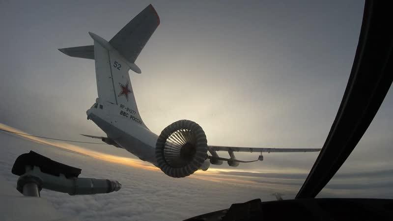 В Хабаровском крае шесть типов боевых самолетов ВВО выполнили дозаправку в воздухе