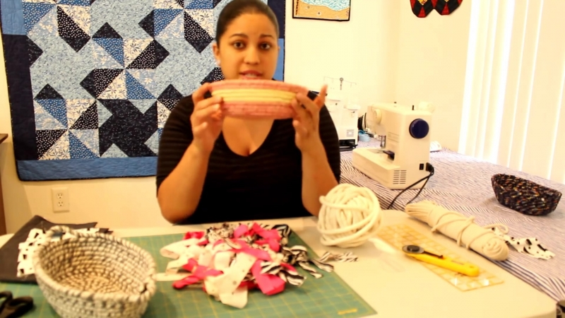 How to make a Fabric BasketBowl