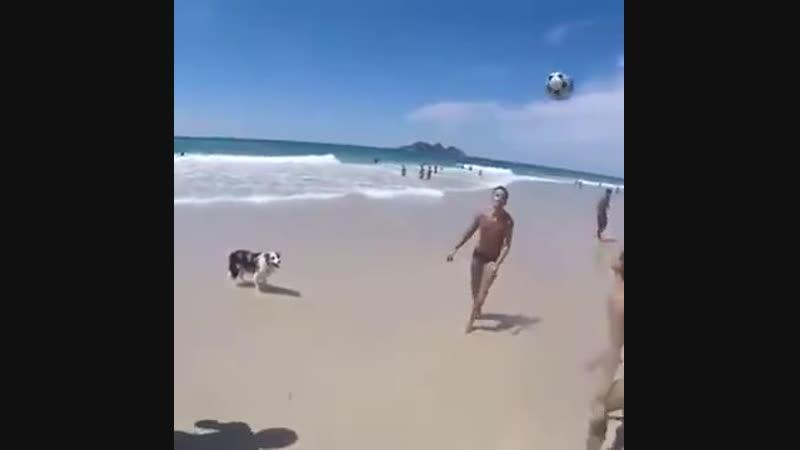 Отличная пляжная команда