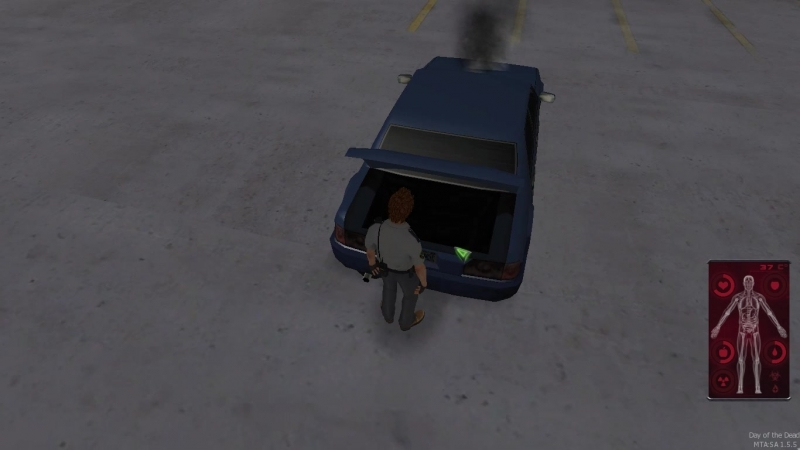 DOTD Взаимодействие с авто