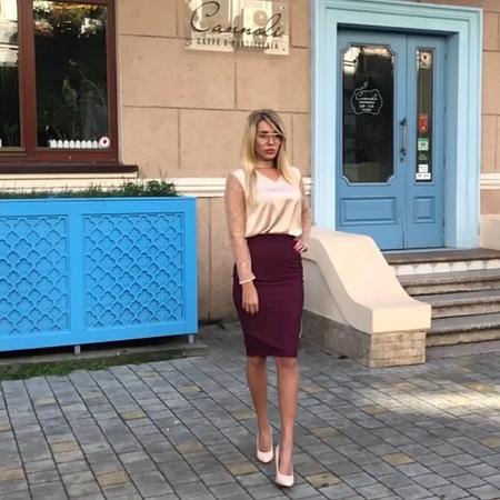 "Gepur Трендовая женская одежда on Instagram: ""На @darina_pdtnn: •Блуза с чокером представлена в двух цветах. •Старая цена 704грн/1637руб/27$ ✔️Нова..."