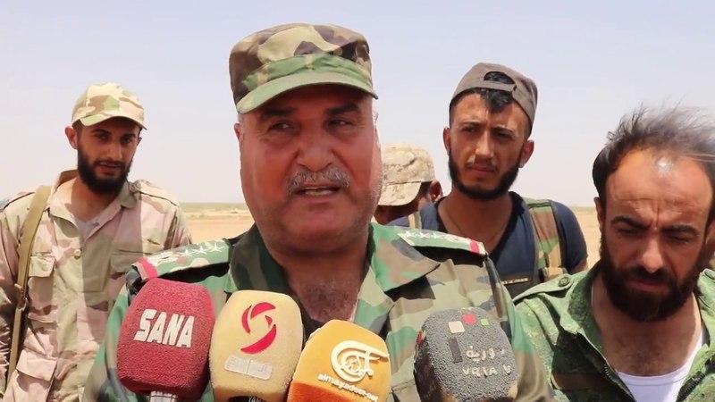 الجيش يتصدى لهجوم إرهابيين من تنظيم داعش على نقاط عسكرية بريف الميادين