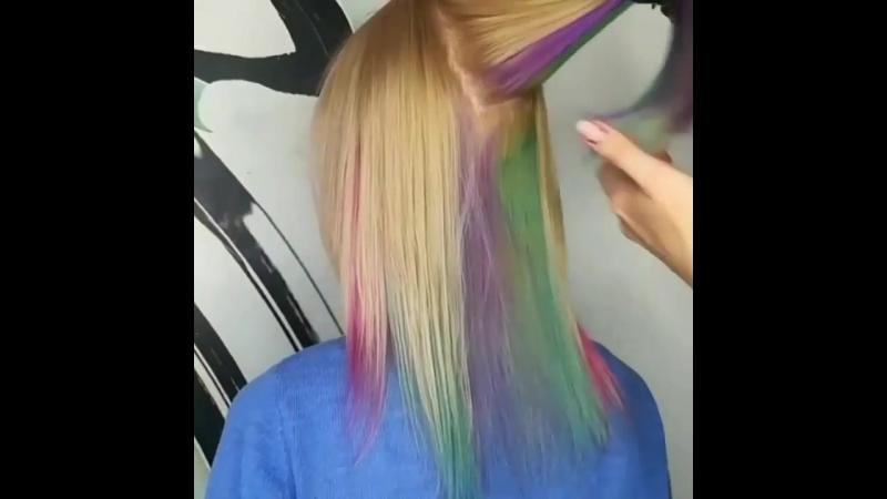 Нежные пряди от @poni hairdresser
