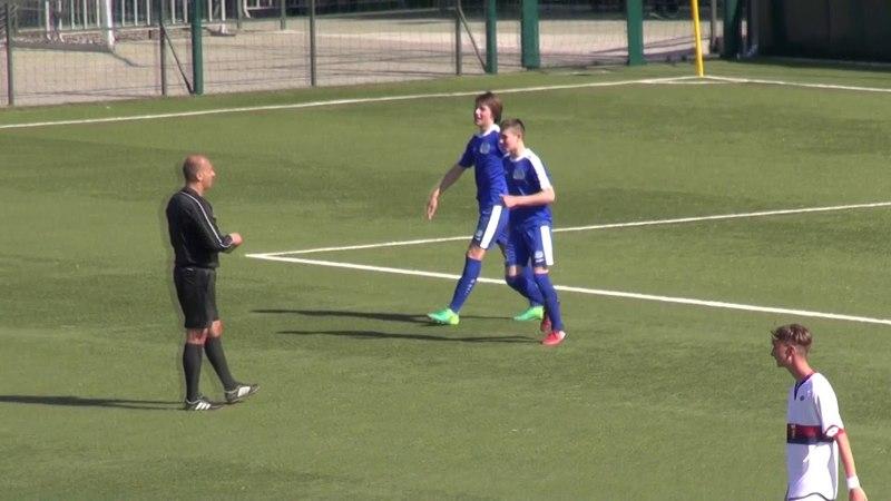 U15 Genoa 2:5 Dinamo Minsk 26.04.18
