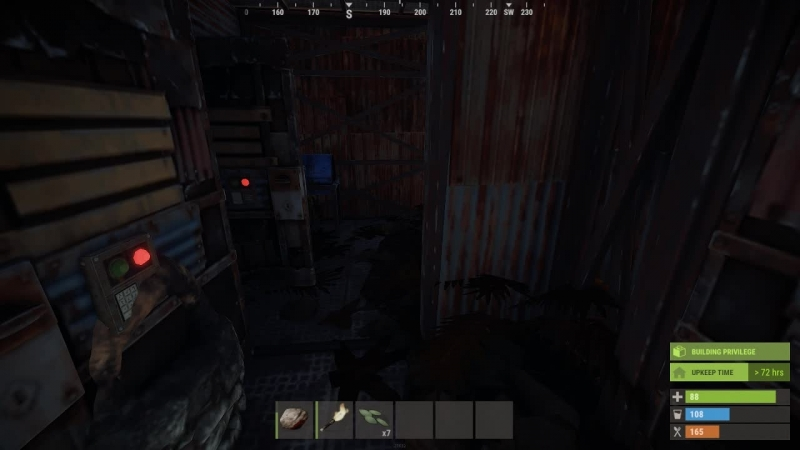Пробуем выжить в Rust День 3