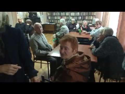Снято на телефон Благодарность подопечных Ворошиловского терцентра ПЖ Донецк
