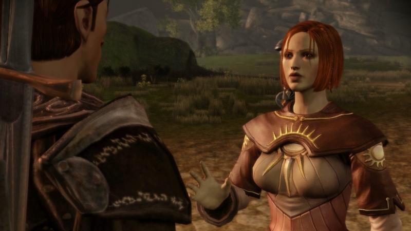Dragon Age Origins Лелиана присоединяется к отряду