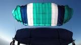 Parachute Opening - Aerodyne Pilot 168 main canopy httpswww.flyaerodyne.com