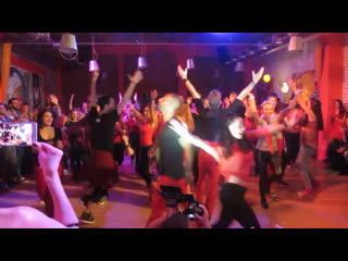 Salsa cuban bootcamp by alain & katerina at the rostov for fun fest 2016