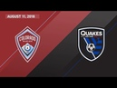 HIGHLIGHTS Colorado Rapids 2 1 San Jose Earthquakes