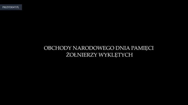 Jutro Narodowy Dzień Pamięci - ŻołnierzeWyklęci__@AndrzejDuda odda hołd Niezłomny ( 720 X 1280 ).mp4
