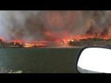 Появление огненного торнадо над горящими прериями сняли в США.