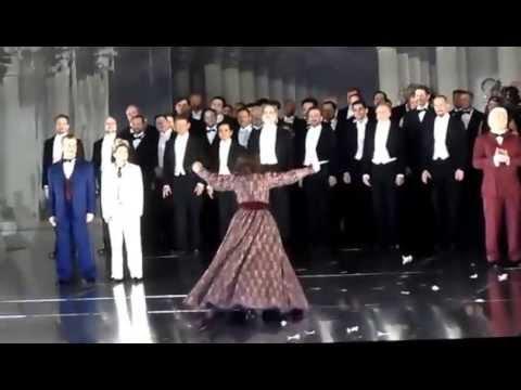 Curtane call in Un Ballo in Maschera with Sondra Radvanovsky,Piotr Beczala Dmitri Hvorostovsky 4