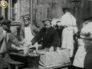 Кинохроника Обед за рубль для безработных 1918 год.