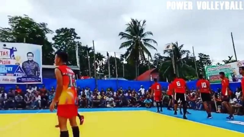 Monster 3rd Meter Spike. Volleyball (HD).