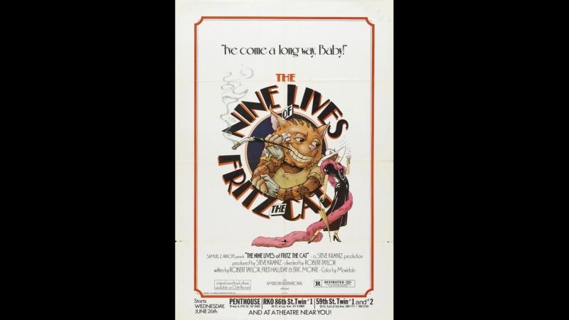 Девять жизней кота Фрица / The Nine Lives of Fritz the Cat (1974)