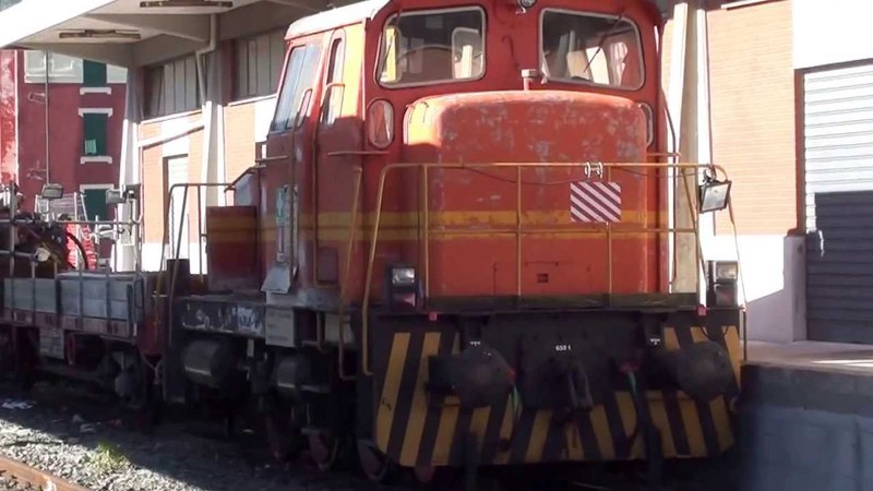 Stazione di Savona - E656, Vettura Didattica A.C.E.I.