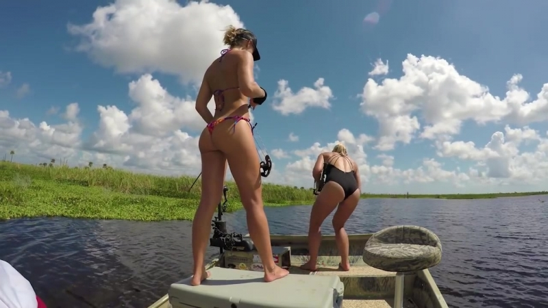 Bikini Bowfishing for my BIRTHDAY