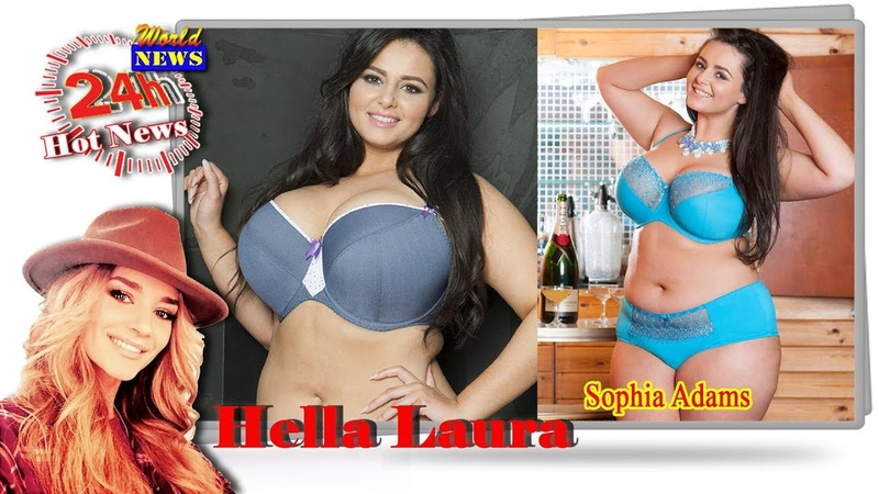 Sophia Adams curvy chicks rock the fashion world