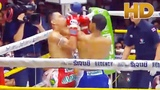 Nice Muay Thai Uppercut Elbow KO in HD Best of AUG'14