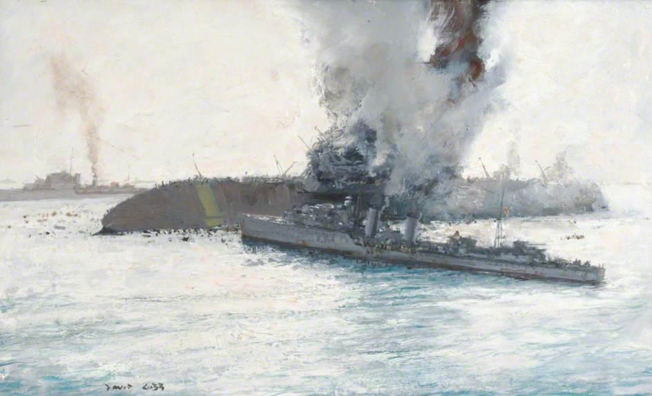 Немного о гибели британских авианосцев