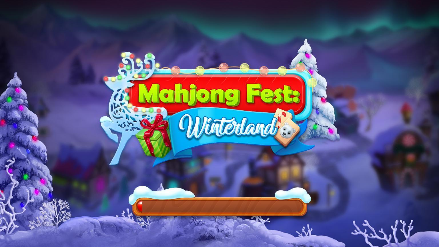 Фестиваль Маджонга: Зимняя страна чудес | Mahjong Fest: Winter Wonderland (En)