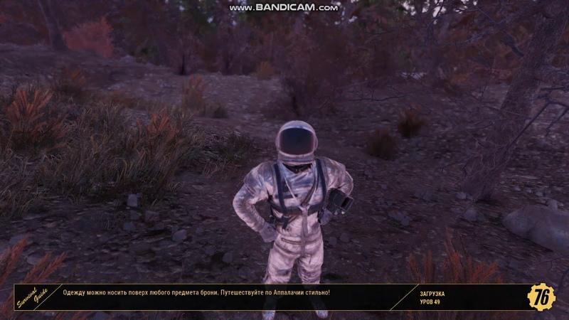 Fallout76 Подстрелил волку потомство !!