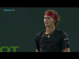 A third Masters 1000 final for Alex Zverev. - - The young German too good for Pablo Carreno-Busta 7-64 6-2. - - MiamiOpen
