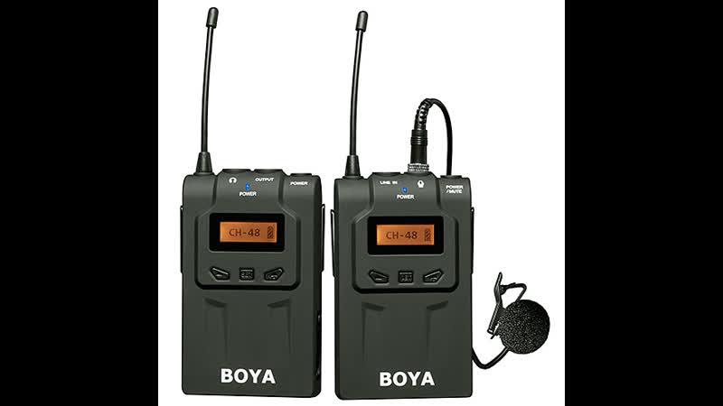 Boya BY-WM6 (Инструкция)