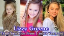 Lizzy Greene transformation from 1 to 15 years old