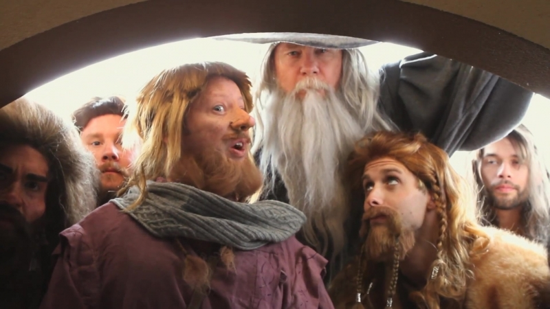 The Hobbit An Unexpected Parody by The Hillywood Show®