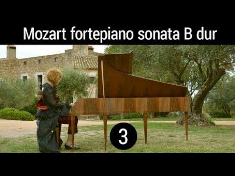 FORTEPIANO W.A.Mozart Sonata B-flat major, K-570 Allegretto