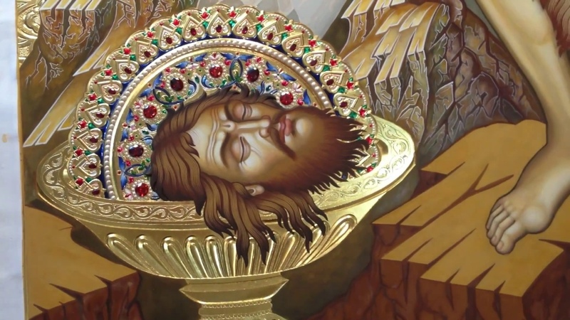 Поэтапное Написание Образа Иоанна Предтечи Икона от А до Я Сумская Икона